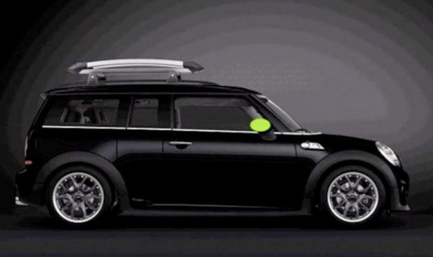 MINI Clubman Rally edition